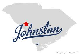 Johnston, SC map image
